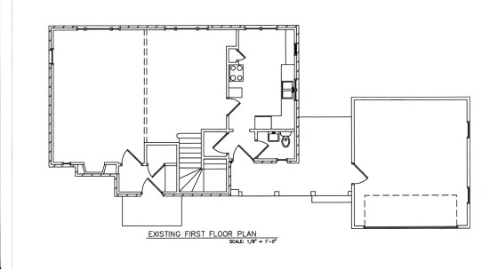 existing first floor